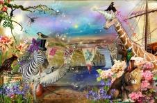 Unicorn Giraffe by Laura Botsford and Teddi Rutschman